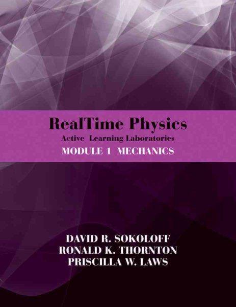 RealTime physics. Module 1, Mechanics : active learning laboratories