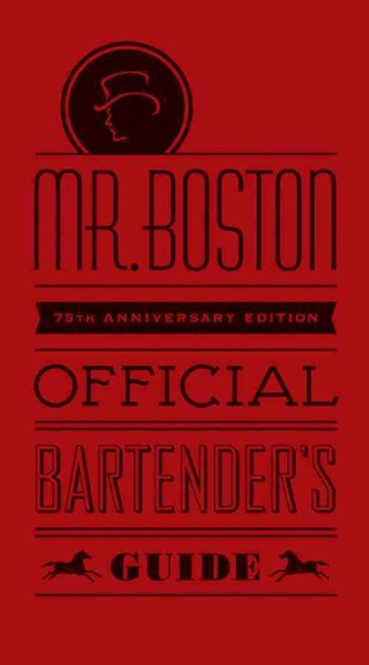 Mr. Boston official bartender