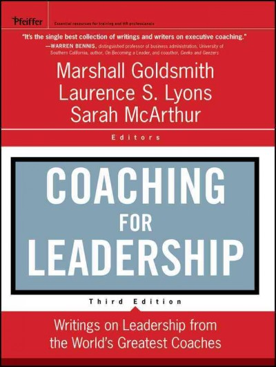 Coaching for leadership : writings on leadership from the world