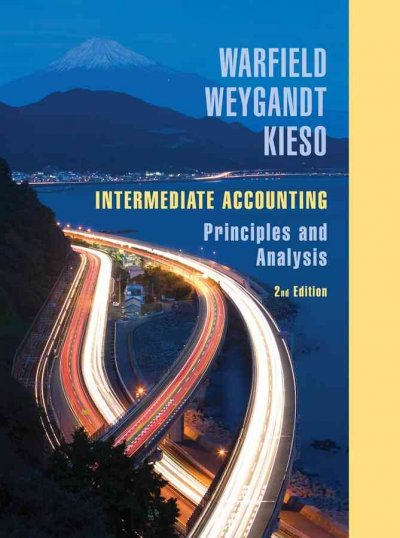 Intermediate accounting:principles and analysis