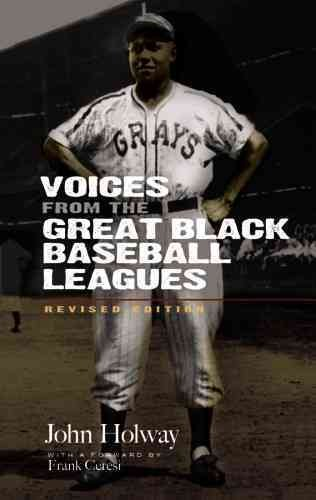 Voices from the great Black baseball leagues /