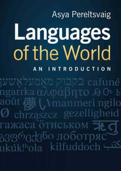 Languages of the world : : an introduction