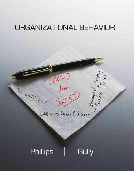 Organizational behavior : tools for success