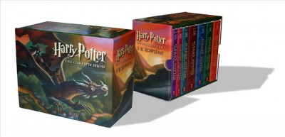 Harry Potter Paperback Boxset #1-7   哈利波特1-7平裝套書