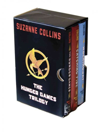 Hunger Games Trilogy Boxset 飢餓遊戲1-3(套書)