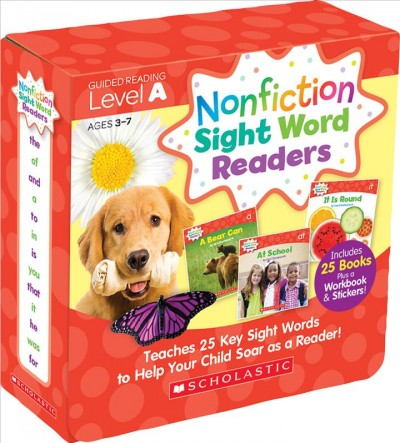 Nonfiction Sight Word Readers Parent Pack