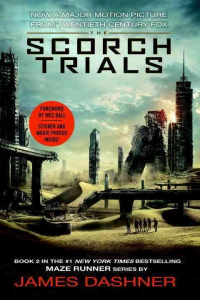 The Maze Runner 2:The Scorch Trials(MTI) 移動迷宮2:焦土試煉(電影封面)