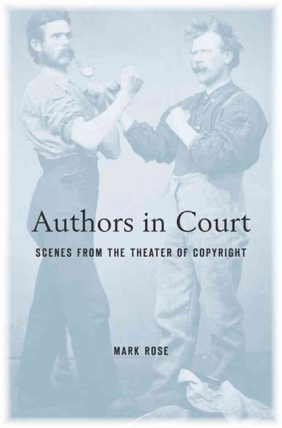 Authors in Court