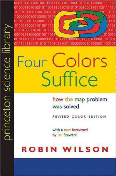 Four colors suffice : : how the map problem was solved