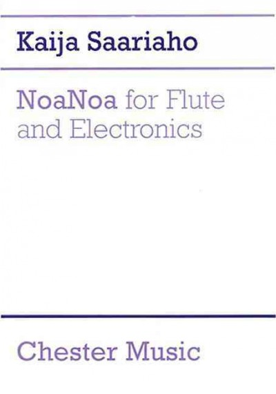 NoaNoa for flute and electronics /