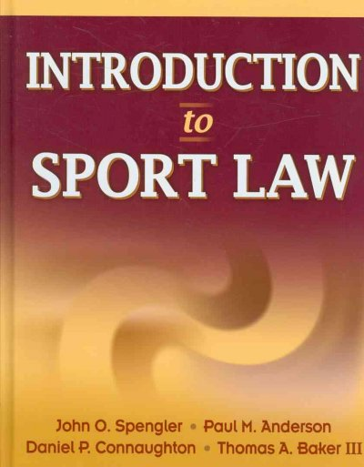 Introduction to sport law /