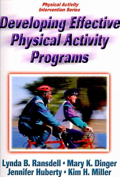 Developing effective physical activity programs /