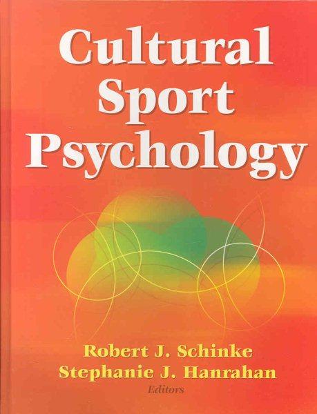 Cultural sport psychology /