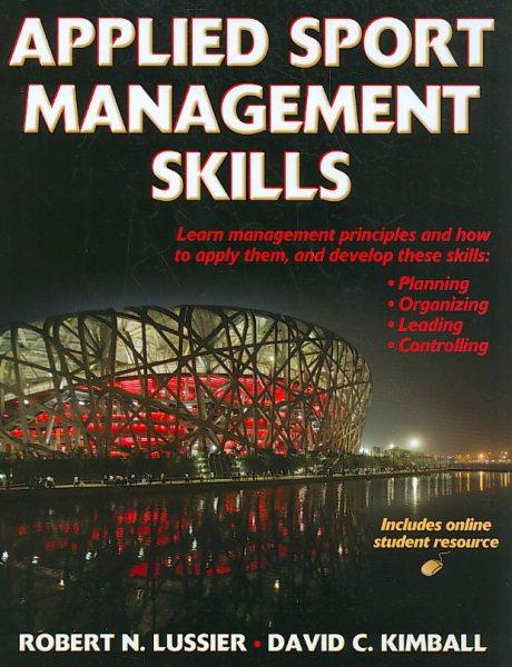Applied sport management skills /