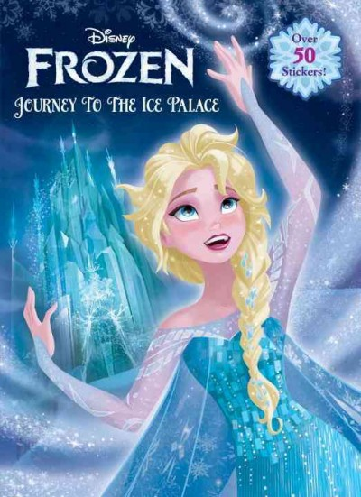 Journey to the Ice Palace (Disney Frozen) (Jumbo Coloring Book)  冰雪奇緣綜合遊戲塗鴉練習本