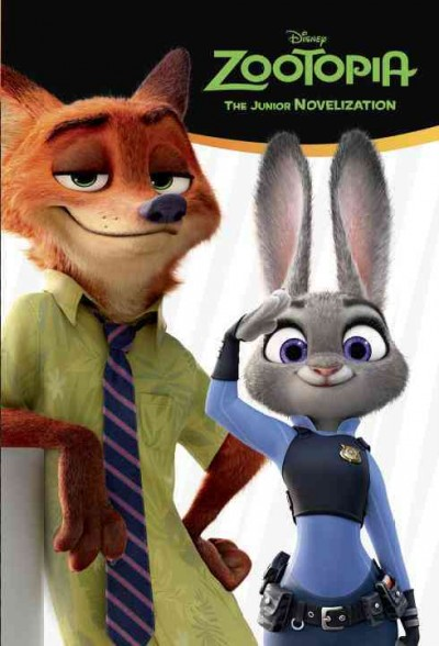 Zootopia:Junior Novelization 動物方城市電影小說