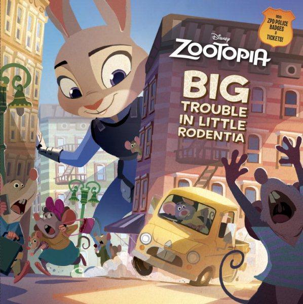 Zootopia:Big Trouble in Little Rodentia 動物方城市故事書(附方城市警局勳章+罰單)
