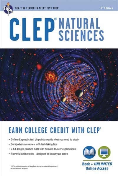 Clep Natural Sciences Book + Online
