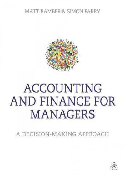 Accounting and finance for managers /