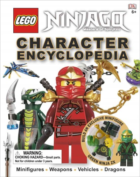 LEGO NINJAGO:Character Encyclopedia 樂高旋風忍者人物百科