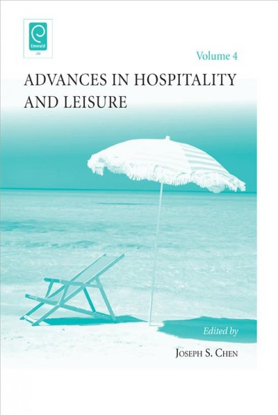 Advances in hospitality and leisure.