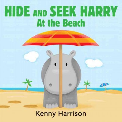Hide and seek Harry at the beach 封面