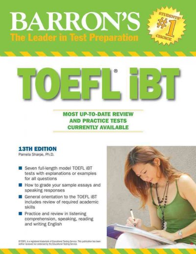 TOEFL iBT :  internet -based text /