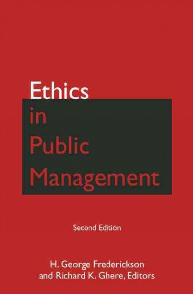 Ethics in public management /