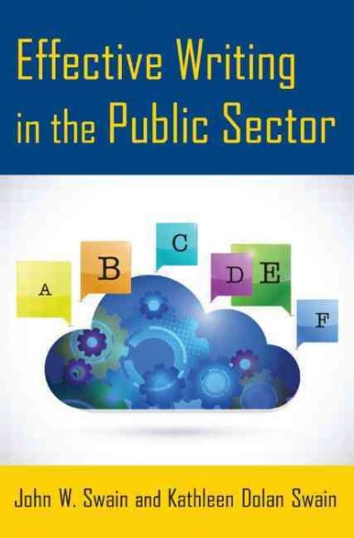 Effective writing in the public sector /