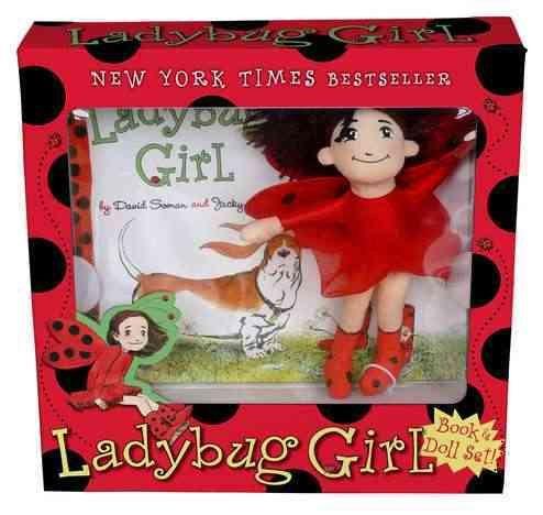 Ladybug girl book and toy set