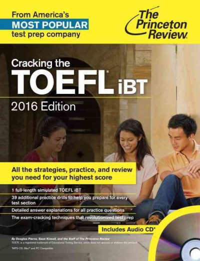 Cracking the TOEFL iBT /