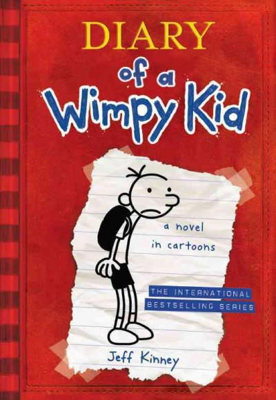 Diary of a Wimpy Kid(Internationl edition)遜咖日記