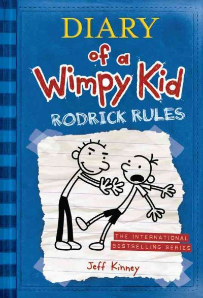 Diary of a Wimpy Kid 2: Rodrick Rules(International edition)(遜咖日記2-葛瑞不能說的祕密)