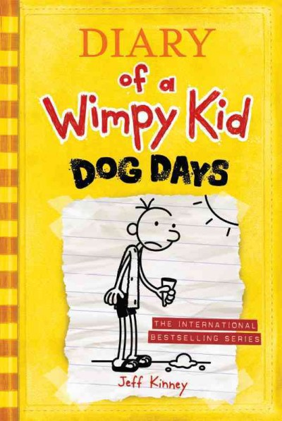 Diary of a Wimpy Kid 4: Dog Days(International edition) 遜咖日記4:失控的暑假(平裝)