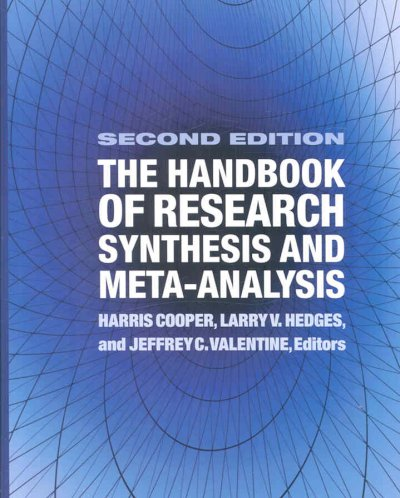 The handbook of research synthesis and meta-analysis /