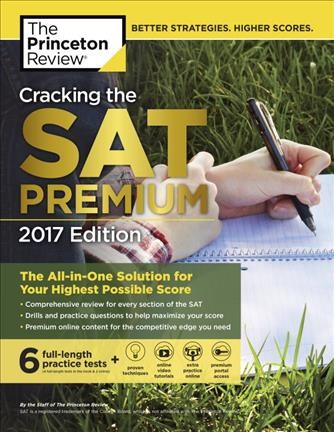 Cracking the Sat Premium Edition With 6 Practice Tests 2017