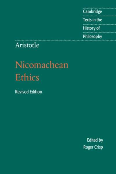 Nicomachean ethics /