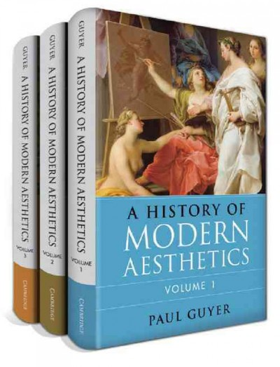 A history of modern aesthetics /