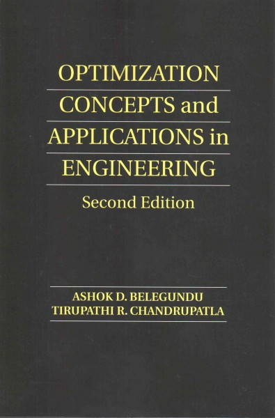 Optimization concepts and applications in engineering /
