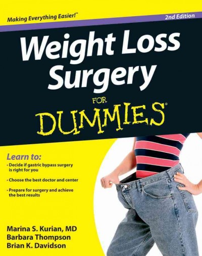 Weight loss surgery for dummies /