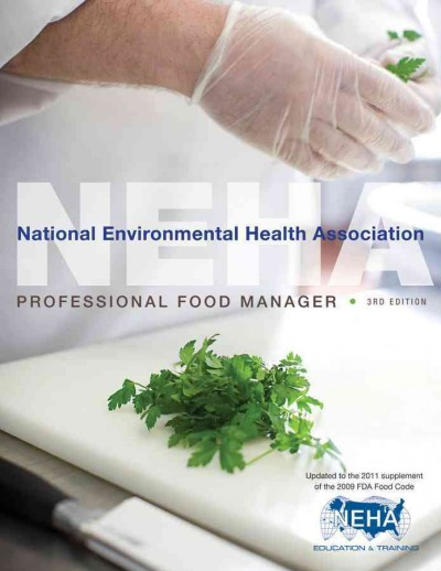 NEHA professional food manager /