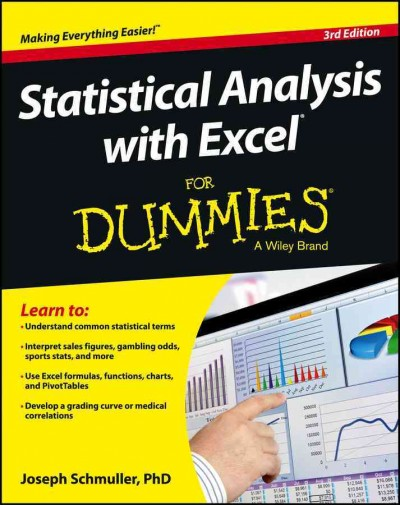 Statistical analysis with Excel for dummies /