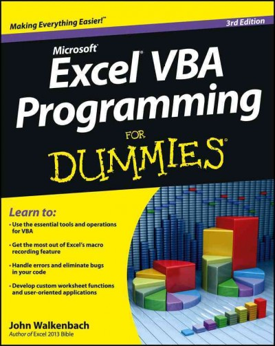 Excel VBA programming for dummies /