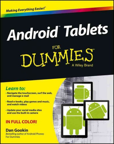Android tablets for dummies /