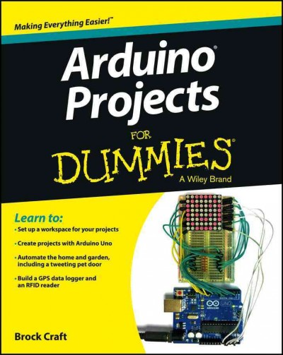 Arduino projects for dummies /
