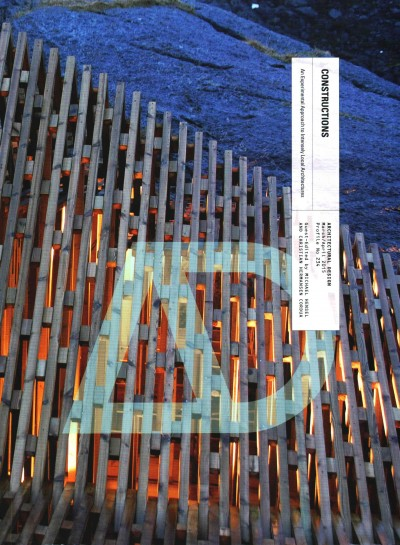 Constructions : : an experimental approach to intensely local architectures