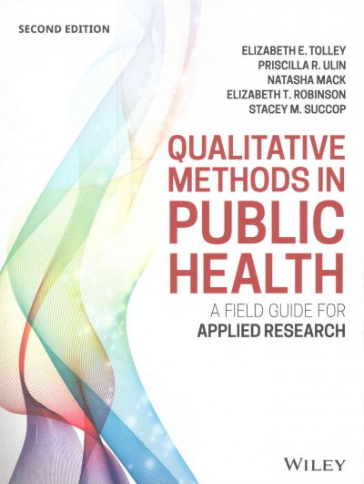 Qualitative methods in public health : a field guide for applied research /