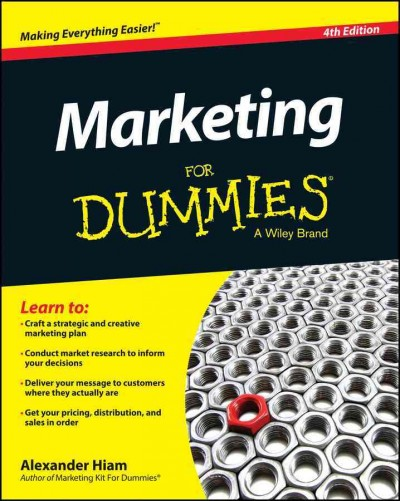 Marketing for dummies /