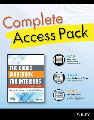 Complete access pack : : the codes guidebook for interiors- sixth edition