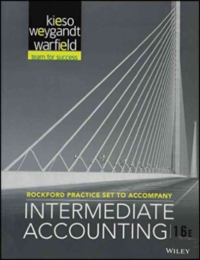 Rockford Practice Set T/A Intermediate Accounting